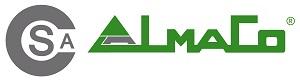 LOGO SAC ALMACO alquiler venta maquinaria industrial obra publica construccion carretillas plataformas elevadoras articuladas pisones dumpers valencia paterna www.sacalmaco.com
