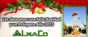 ALMACO LES DESEA FELIZ AÑO 2015: GRACIAS POR EL 2014, HACIA UN AÑO TODAVÍA MEJOR!