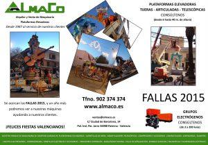 FALLAS 2015 EN ALMACO