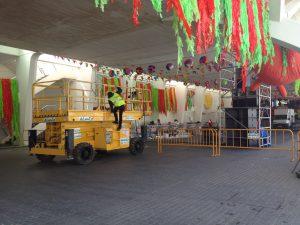 ALQUILER VENTA MAQUINARIA SAC ALMACO VALENCIA PLATAFORMAS ELEVADORAS DUMPERS CARRETILLAS VALLAS TORRES DE ANDAMIO PISONES eventos