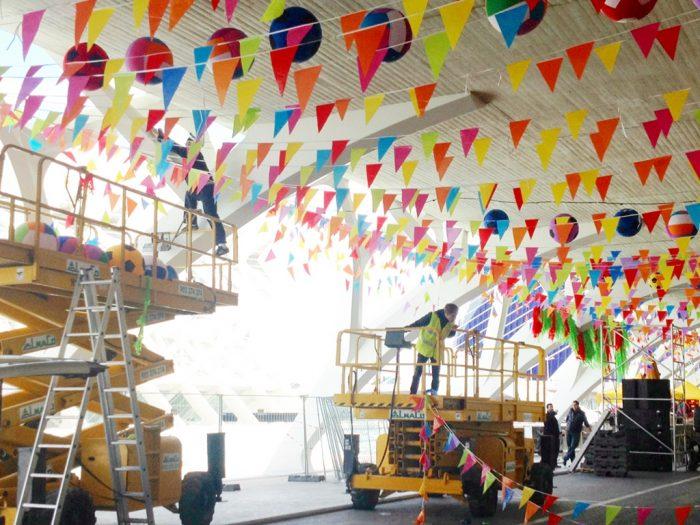 alquiler venta vallas torres de andamio maquinaria plataformas elevadoras carretillas plataformas elevadoras valencia paterna www.sacalmaco _eventos
